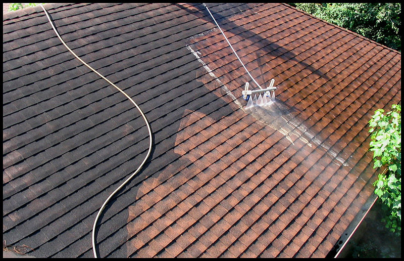 request service today - Roof Cleaning