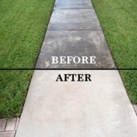 Sidewalk Pressure Cleaning and washing Coral Springs